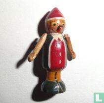 Pinocchio miniature wood