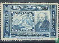 Herdenking eerste postzegel
