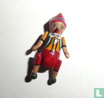 Miniature Pinocchio wood