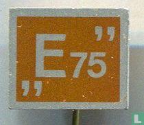 """""""E 75"""" [oranje]"""