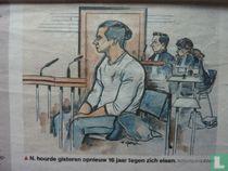 OM: Reda N. moet 16 jaar de cel in