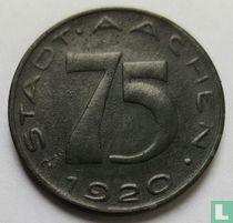 Aachen 75 pfennig 1920