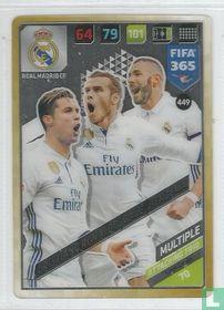 Cristiano Ronaldo / Bale /Benzema