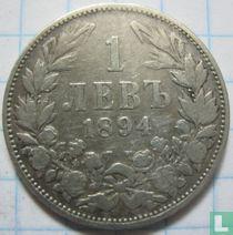 Bulgarije 1 lev 1894