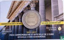 "Belgium 2 euro 2017 (coincard - FRA) ""200 years Ghent University"""