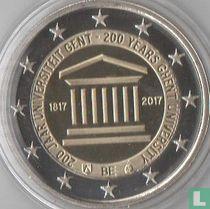 "Belgium 2 euro 2017 (PROOF) ""200 years Ghent University"""