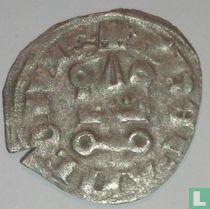 Achaia, Denier 1280-1303