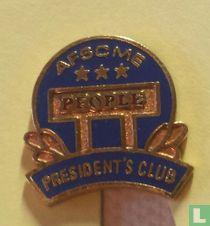 AFSCME president's club