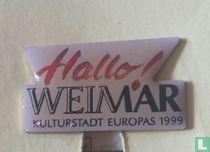 Weimar Kulturstadt Europa's 1999