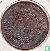 Açores 20 reis 1865