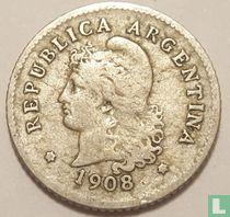 Argentinië 10 centavos 1908