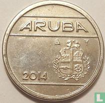 Aruba 25 cent 2014