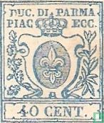 Parma - Lelie in schild