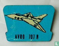 Avro 707 B(donker blauw)
