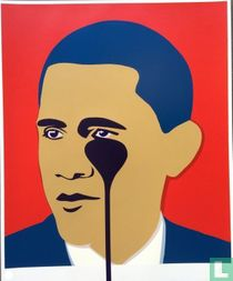 Crying Obama (red edition)