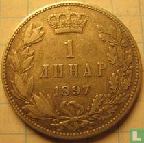 Servië 1 dinar 1897
