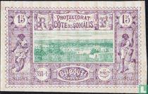 Ansicht auf Dschibuti