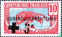 Luipaard, met opdruk Rode Kruis