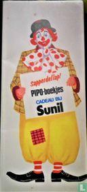 Pipo de Clown Sunil boekjes presentatie
