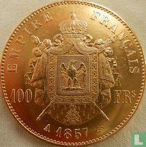 Frankrijk 100 francs 1857
