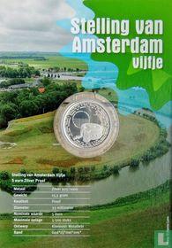 """Netherlands 5 euro 2017 (PROOF - folder) """"Defence Line of Amsterdam"""""""