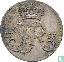 Pruisen 1/48 thaler 1753