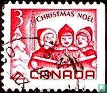 Kinderen zingen kerstliederen