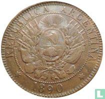 Argentina 2 centavos 1890
