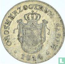 Baden 6 kreuzer 1814