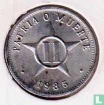 Cuba 2 centavos 1985