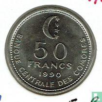 Comoren 50 francs 1990
