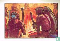 Ceremoniën rond het vuur