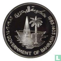 "Bahrein 250 fils 1983 (PROOF - jaar 1403) ""FAO"""