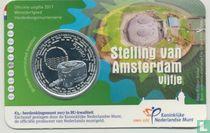 "Netherlands 5 euro 2017 (coincard - BU) ""Defence Line of Amsterdam"""