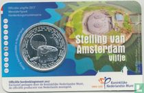 """Netherlands 5 euro 2017 (coincard - UNC) """"Defence Line of Amsterdam"""""""