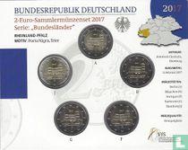 """Duitsland jaarset 2017 """"Rheinland - Pfalz"""""""