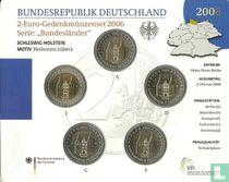 """Duitsland jaarset 2006 """"Schleswig - Holstein"""""""