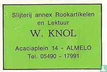 Slijterij annex Rookartikelen W.Knol