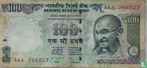 India 100 Rupees 2012 (L)