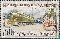 Railway between Zouerate and Port Etienne