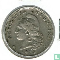 Argentinië 20 centavos 1924