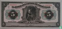 Mexico 5 Pesos 1913