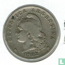 Argentinië 20 centavos 1922
