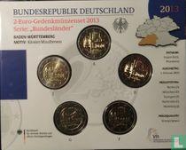 """Duitsland jaarset 2013 """"Baden - Württemberg"""""""