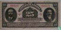 Mexico 25 Cent Vogezen 1915