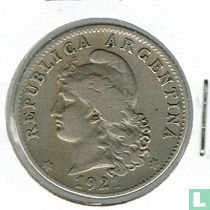 Argentinië 20 centavos 1921