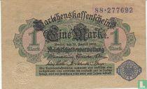 Reichsschuldenverwaltung, 1 Mark 1914 (51D)