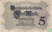 Reichsschuldenverwaltung, 5 Mark 1914 (C)