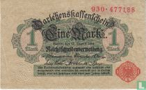 Reichsschuldenverwaltung, 1 Mark 1914 (51C)