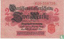 Reichsschuldenverwaltung, 2 Mark 1914 (B)